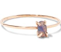 Ring Aus 14 Karat  Mit Opal