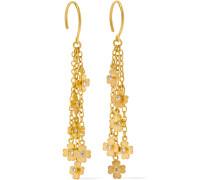Ohrringe aus 22 karat  mit Diamanten