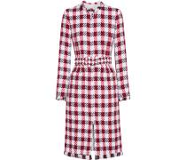 Mantel aus Tweed aus einer Baumwollmischung