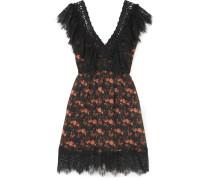 Vir Kleid aus Voile aus einer Baumwollmischung
