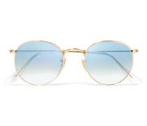 farbene Sonnenbrille mit Runden Gläsern