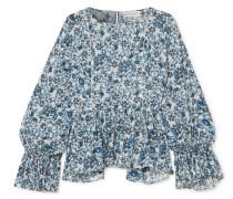 Midnight Bluse aus Baumwollgaze
