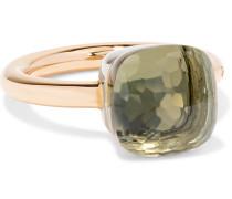 Nudo Classic Ring aus 18 Karat Rosé- und Weißgold