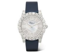 L'heure Du Diamant 35,75 Mm Uhr aus 18 Karat