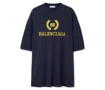 Oversized-t-shirt aus Baumwoll-jersey
