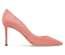 Romy 85 Pumps aus Veloursleder