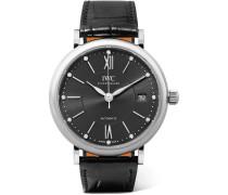 Portofino Automatic 37 Mm Uhr aus Edelstahl