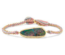 Ellipse Armband aus 18 Karat  mit Opal