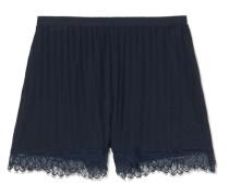 Bree Pyjama-shorts aus Geripptem Pima-baumwoll-jersey