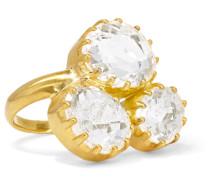 Ring aus 18 Karat  mit Kristallen