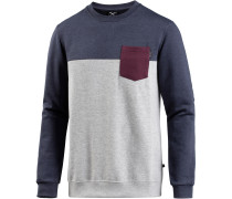 Block Pocket Sweatshirt Herren