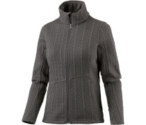 Major Cable Fleecejacke Damen