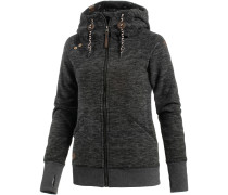 Terry Zip Fleecejacke Damen