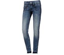 Pitch Stripe Skinny Fit Jeans Damen