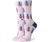 Polka Pineapple Sneakersocken