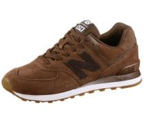ML574 Sneaker Herren, brown-green-white| ML574 Sneaker Herren, green-white
