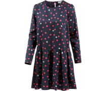 Enda Bubble Dots Langarmkleid Damen