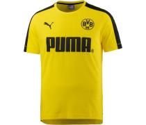 Borussia Dortmund T-Shirt Herren, Cyber Yellow- Black