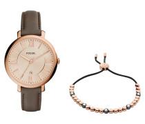 Schmuckset ES3707SET bestehend aus Damenuhr und Armband