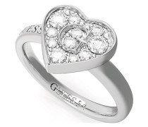 Damenring Pave G Heart Crystals Ring(rh) UBR79028-56
