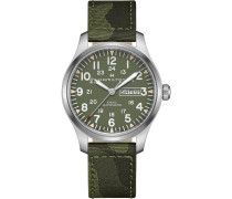 Herrenuhr Khaki Field Day Date H70535061