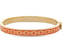 Armreif Skinny Chain Orange & Gold 206/DH004