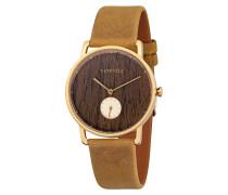 Uhr Frida Walnuss Senf WATWFRI4165
