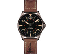 Herrenuhr Khaki Pilot Auto Day Date H64605531