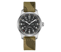 Herrenuhr Khaki Field Day Date H70535031