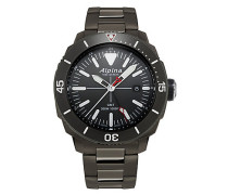 Herrenuhr Seastrong Quartz GMT AL-247LGG4TV6B