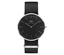 Herrenuhr Classic Black Cornwall DW00100149