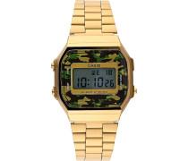 Herrenchronograph Retro A168WEGC-3EF