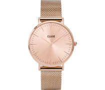 Damenuhr La Bohème Mesh Full Rose Gold CLG002