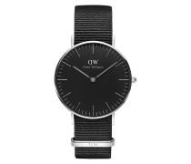 Damenuhr Classic Black Cornwall DW00100151
