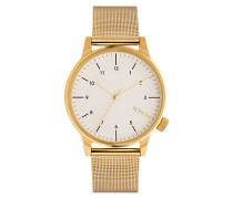 Herrenuhr Winston Royale Gold White KOMW2358