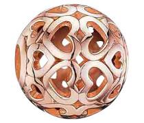 Karma Bead K0018-415-12 Herzen rosevergoldet