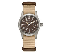 Unisexuhr Khaki Field Mechanical H69439901