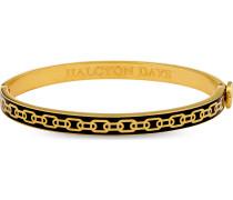 Armreif Skinny Chain Black & Gold 206/DH001