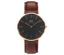 Herrenuhr Classic Black St Mawes DW00100124