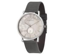 Uhr Fritz Weißer Marmor Asphaltgrau WATMFRI4257