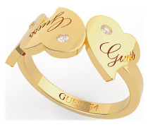 Damenring Triple Heart Ring (gl) UBR79013-56