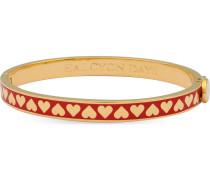 Armreif Skinny Heart Red & Gold 206/DH042
