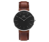 Herrenuhr Classic Black St Mawes DW00100130