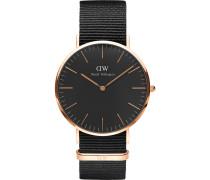 Herrenuhr Classic Black Cornwall DW00100148