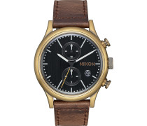Herrenuhr Station Chrono Leather A1163-2539-00