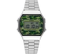 Herrenchronograph Retro A168WEC-3EF
