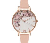 Damenuhr Enchanted Garden Dusty Pink OB15WG10