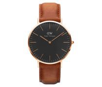 Herrenuhr Classic Black Durham DW00100126