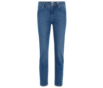 Regular-Fit Jeans in Cropped-Länge