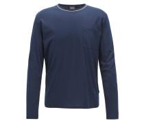 Pyjama-Top aus Interlock-Jersey mit Modal